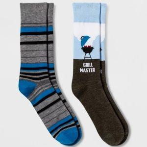 Underwear & Socks - NWT Men's 2 Pair Crew Socks shoe size 7-12🦅